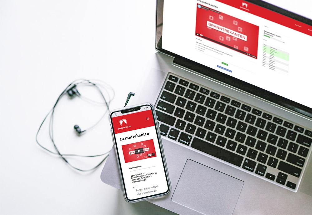 nettkurs for brannvern pc og mobil
